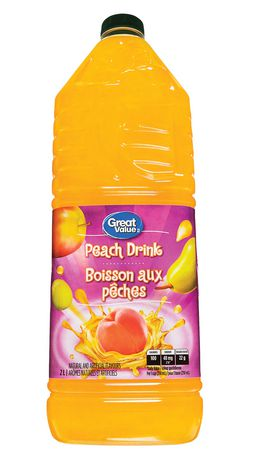 Great Value Peach Drink - image 1 of 3
