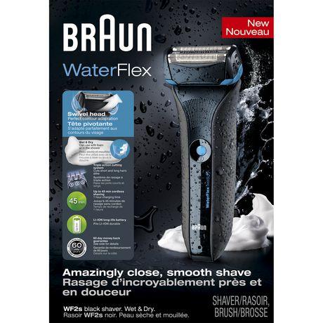 Rasoir Wet&Dry WaterFlex de Braun - image 1 de 1