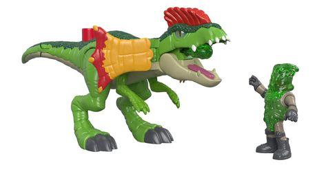 Imaginext - Jurassic World - Dilophasaure et agent - image 1 de 8