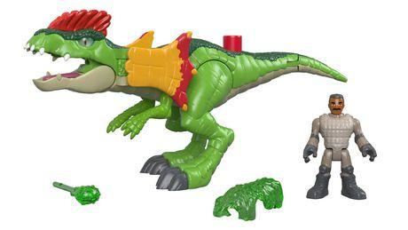 Imaginext - Jurassic World - Dilophasaure et agent - image 2 de 8
