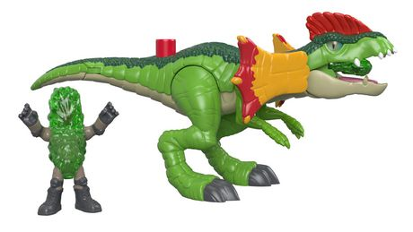 Imaginext - Jurassic World - Dilophasaure et agent - image 3 de 8