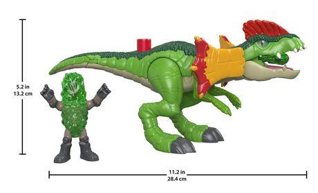 Imaginext - Jurassic World - Dilophasaure et agent - image 4 de 8