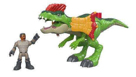 Imaginext - Jurassic World - Dilophasaure et agent - image 5 de 8