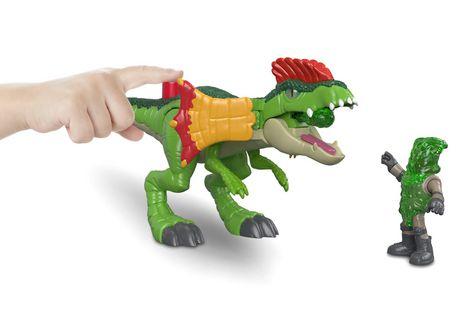 Imaginext - Jurassic World - Dilophasaure et agent - image 6 de 8