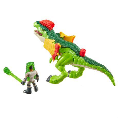 Imaginext - Jurassic World - Dilophasaure et agent - image 7 de 8