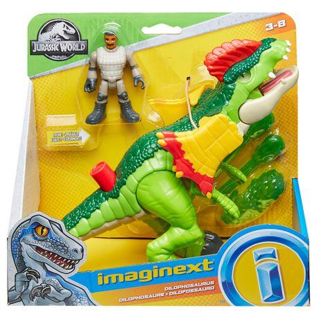 Imaginext - Jurassic World - Dilophasaure et agent - image 8 de 8