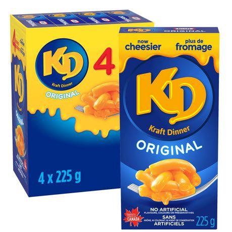 Kraft Dinner Original Macaroni & Cheese - image 1 of 2