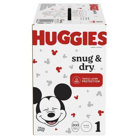 HUGGIES Snug & Dry Diapers, Mega Colossal Pack - image 1 of 9