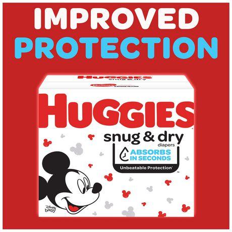 HUGGIES Snug & Dry Diapers, Mega Colossal Pack - image 2 of 9