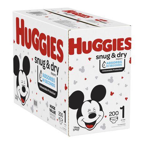 HUGGIES Snug & Dry Diapers, Mega Colossal Pack - image 9 of 9