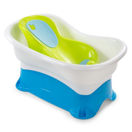 summer infant right height bath center tub walmart canada. Black Bedroom Furniture Sets. Home Design Ideas