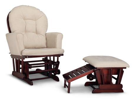 chaise ber ante semi rembourr e et tabouret d allaitement parker de graco walmart canada. Black Bedroom Furniture Sets. Home Design Ideas