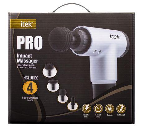 Pistolet de massage à percussion par Itek