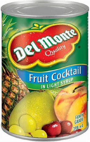 Del Monte 174 Fruit Cocktail In Light Syrup Walmart Canada