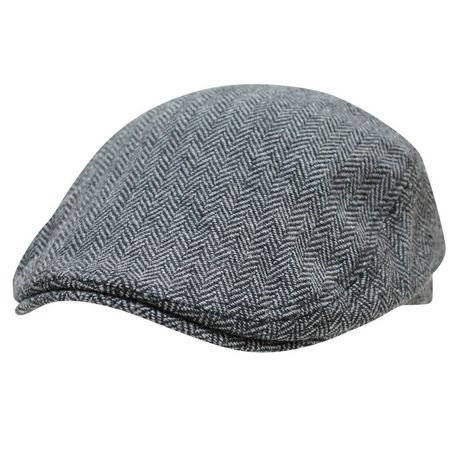 64d0fec491 George Men s Tweed Flat Cap - image 1 ...