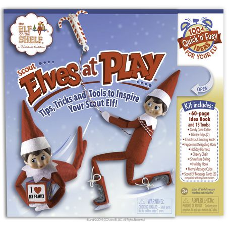 The Elf on the Shelf®  - Scout Elves at Play® Book (Hardcover) - image 1 of 3