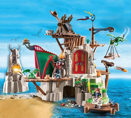 Ens. jeu de construction Campement de l'île de Beurk PLAYMOBIL - image 1 de 2