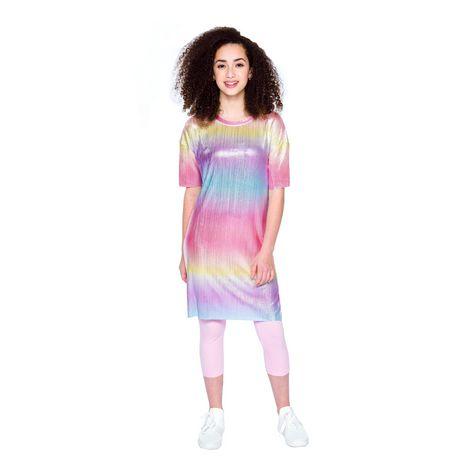 Girls Mini Pop Kids Colorful Shift Dress - image 1 of 6