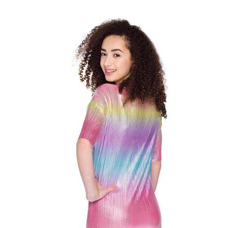 Girls Mini Pop Kids Colorful Shift Dress - image 3 of 6