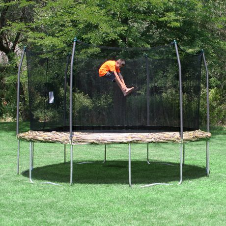 Skywalker Trampolines 12' Camo Round Trampoline And Enclosure - image 2 of 8