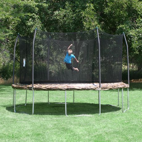 Skywalker Trampolines 15' Camo Round Trampoline And Enclosure - image 2 of 8