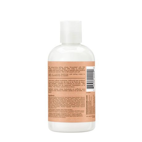 Shea Moisture Curl & Style Milk for dry and damaged hair Coconut & Hibiscus paraben-free 251 ml - image 3 of 4