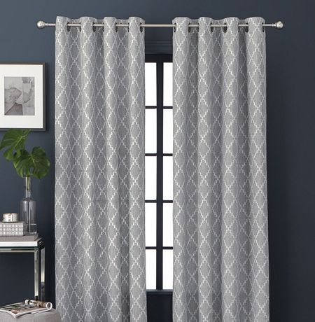 Hometrends Digital Jacquard Panel Walmart Canada