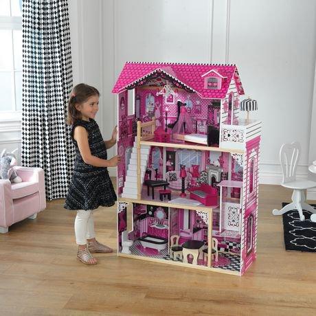 maison de poup e amelia par kidkraft walmart canada. Black Bedroom Furniture Sets. Home Design Ideas