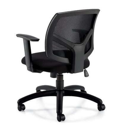 fauteuil basculant bolt d 39 offices to go dossier en tissu. Black Bedroom Furniture Sets. Home Design Ideas