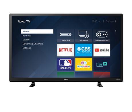 "Sanyo 32"", 720p LED Roku Smart TV, FW32R19FC - image 1 of 9"