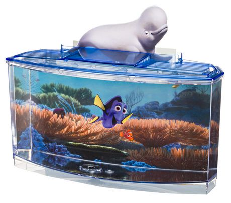 Finding dory betta tank kit walmart canada for Walmart fish supplies