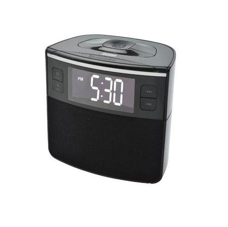 radio r veil bluetooth alarme double avec chargement usb. Black Bedroom Furniture Sets. Home Design Ideas