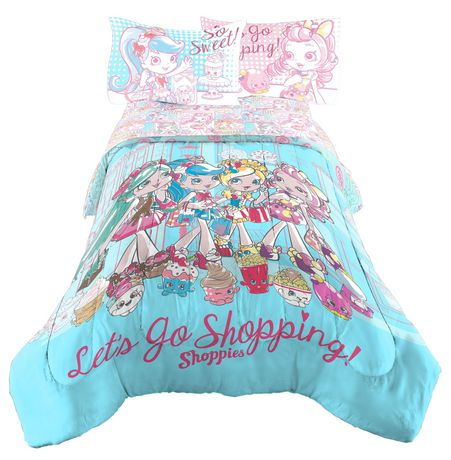 Shoppies Twin/Full Comforter - image 1 of 1