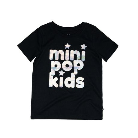 Girls Mini Pop Kids Irridescent Foil T Shirt - image 5 of 7