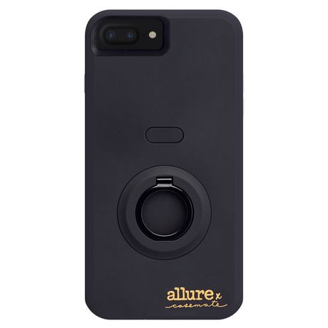 huge discount 8111a 9db83 Case-Mate Allure Selfie Case iPhone 7 Plus Black