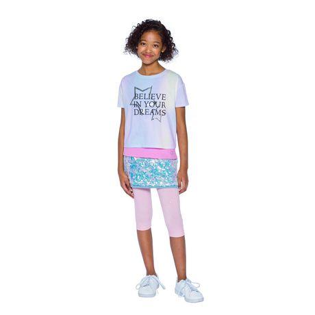 Girls Mini Pop Kids  2 Piece Layered Top - image 1 of 7