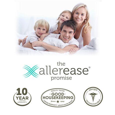 Protège-matelas anti-allergies et anti-punaises de lit AllerEase, à fermeture éclair, imperméable - image 6 de 6