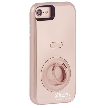 brand new 55e0a d67d9 Case-Mate Allure Selfie Case iPhone 6/6s/7 Rose Gold