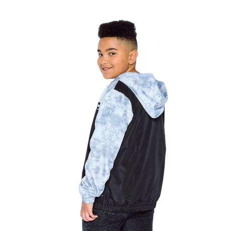 Boys Mini Pop Kids Checker Nylon Jacket - image 3 of 7