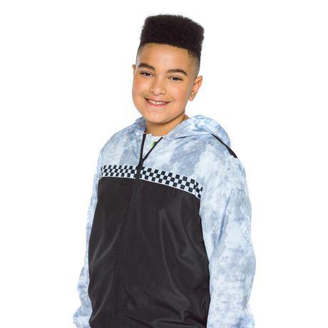 Boys Mini Pop Kids Checker Nylon Jacket - image 4 of 7