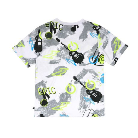 Boys Mini Pop Kids Allover Printed T Shirt - image 6 of 7