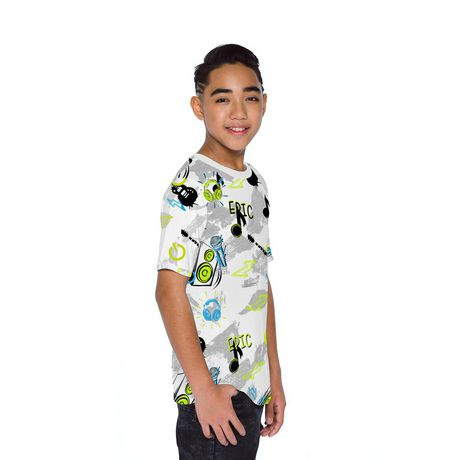 Boys Mini Pop Kids Allover Printed T Shirt - image 2 of 7