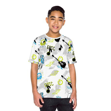 Boys Mini Pop Kids Allover Printed T Shirt - image 4 of 7