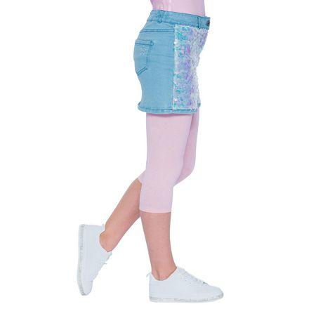 Girls Mini Pop Kids Sparkle Pink Capri Legging - image 3 of 7