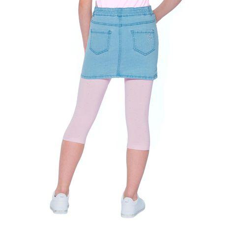 Girls Mini Pop Kids Sparkle Pink Capri Legging - image 4 of 7