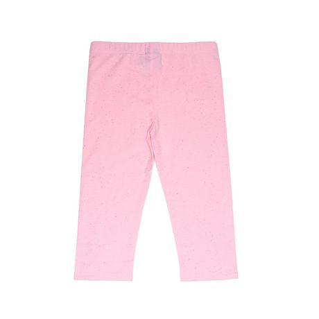 Girls Mini Pop Kids Sparkle Pink Capri Legging - image 6 of 7