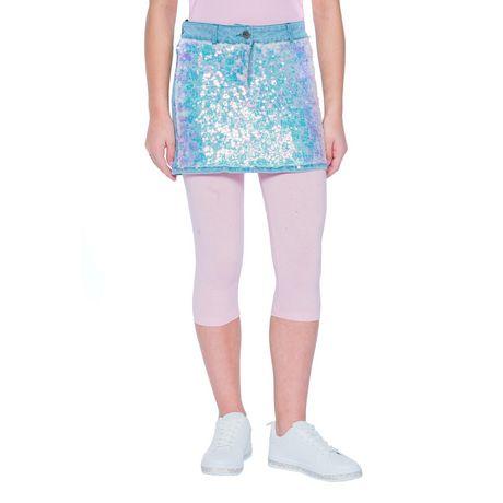Girls Mini Pop Kids Sparkle Pink Capri Legging - image 2 of 7