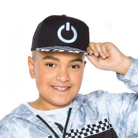 Mini Pop Kids Checkered Hat - image 1 of 6