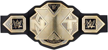 WWE NXT Ceinture-Mattel Wrestling Belt New//boxed