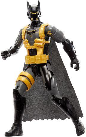 Batman Missions – Mouvements réels – Figurine Batman Combinaison Antitoxine - image 2 de 5